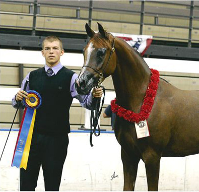Sakeela at the 2011 American Royal